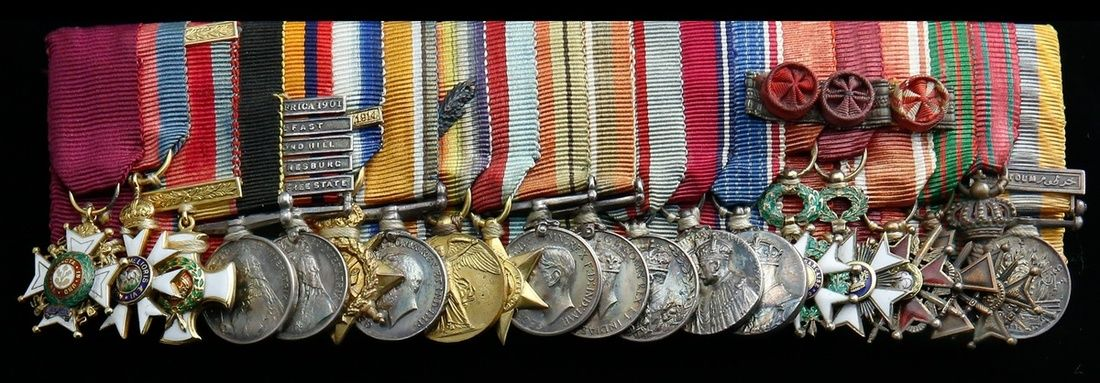 Spink Auction: 17003 - Orders, Decorations and Medals Lot: 636 The