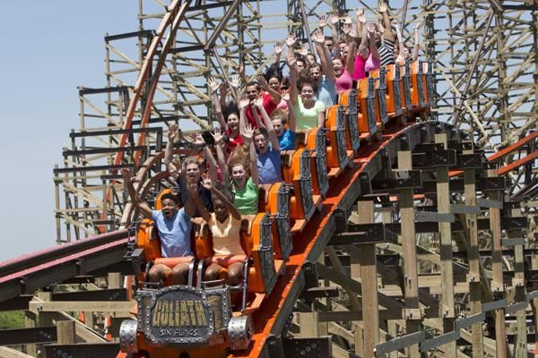 Events Six Flags Great America Great America Six Flags Michigan Vacations
