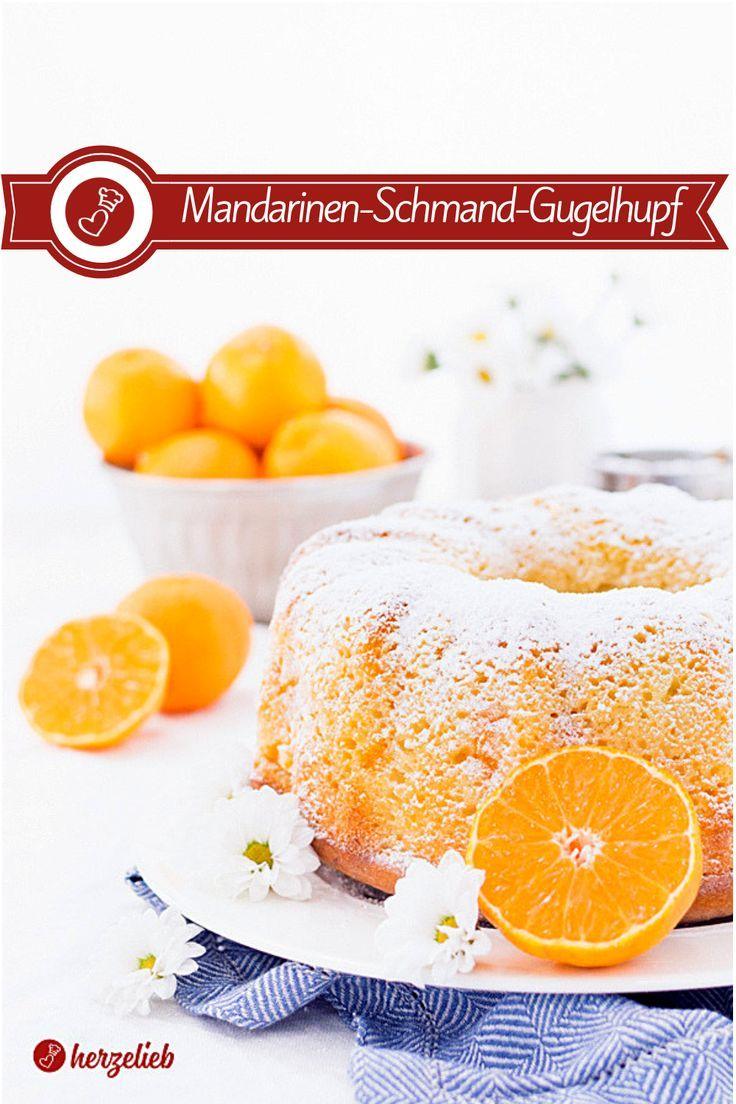 Mandarinen-Schmand-Gugelhupf Rezept #creamfrosting
