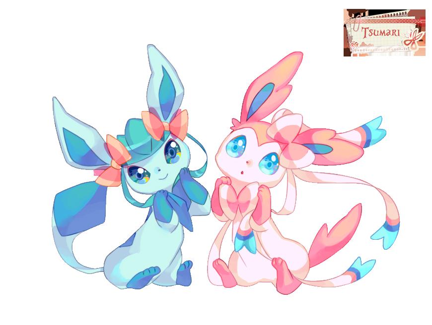 Render pokemon renders pokemon givrali nymphali mignon noeux duo heureux pika pokem - Givrali pokemon ...