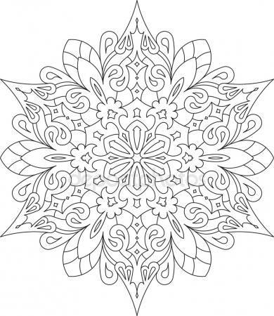 Pin de Patricia Mathey en Coloriages | Pinterest | Mandalas, Pintar ...