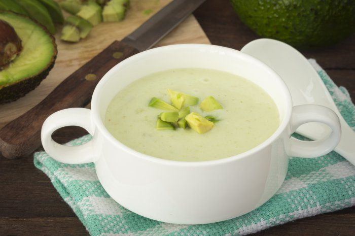 Dairy-Free Creamy Avocado Soup from 20 Make-Ahead Cold Soups for Summer