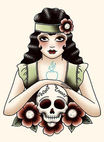 Angelique é Holandesa, designer e se tornou tatuadora depois dos trinta anos de idade.  A artista lançou três livros com seus trabalhos,...