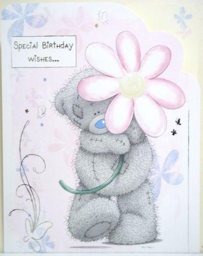 Me To You Special Birthday Wishes Birthday Card Tatty Teddy Bear