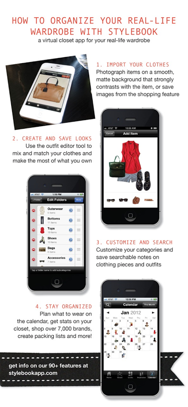 Luxury stylebook i have this app just need to begin using it