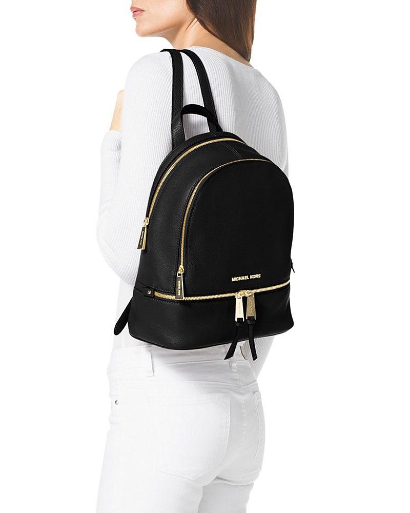 5840a154583d Small Rhea ZipBackpack. Small Rhea ZipBackpack Michael Kors Rhea Backpack  ...