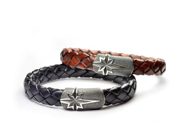 david yurman maritime north star black and brown woven leather bracelets at brown u0026 co menu0027s