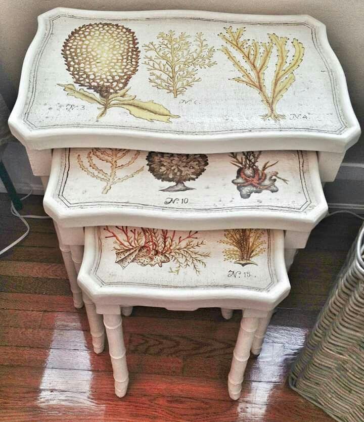 Seaside nesting tables