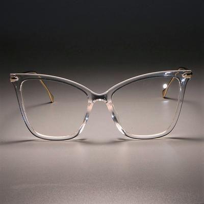 Photo of Damen Sexy Cat Eye Brille Rahmen Frauen Metallbeine CCSPACE 45077 Brand Designer …