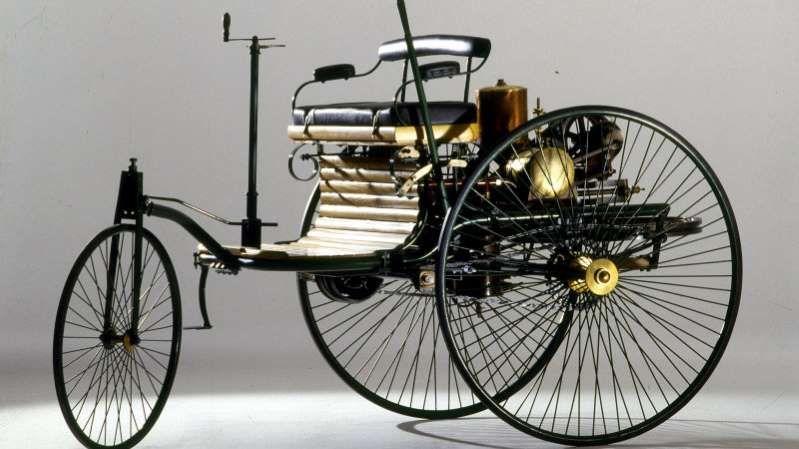 1885 Benz Patent Motorwagen Is One Of The Earliest Cars
