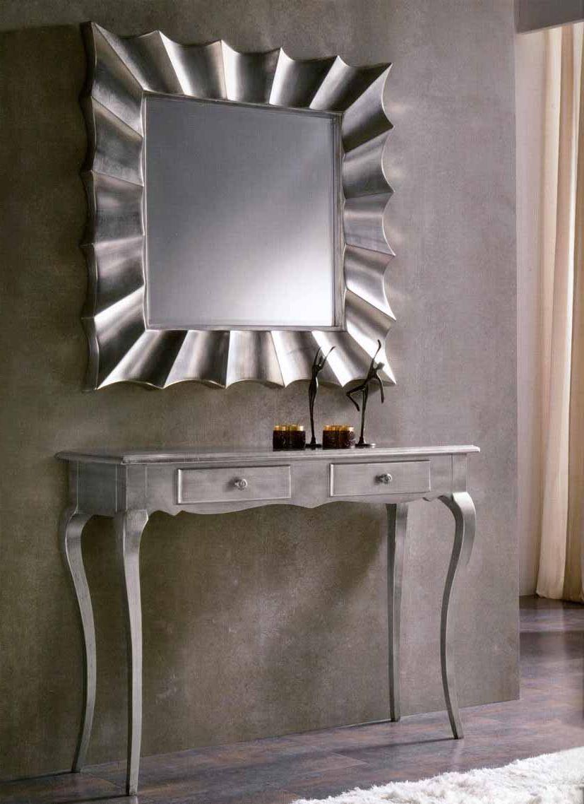 Espejos modernos modelo copernico decoraci n beltr n tu for Decoracion de espejos