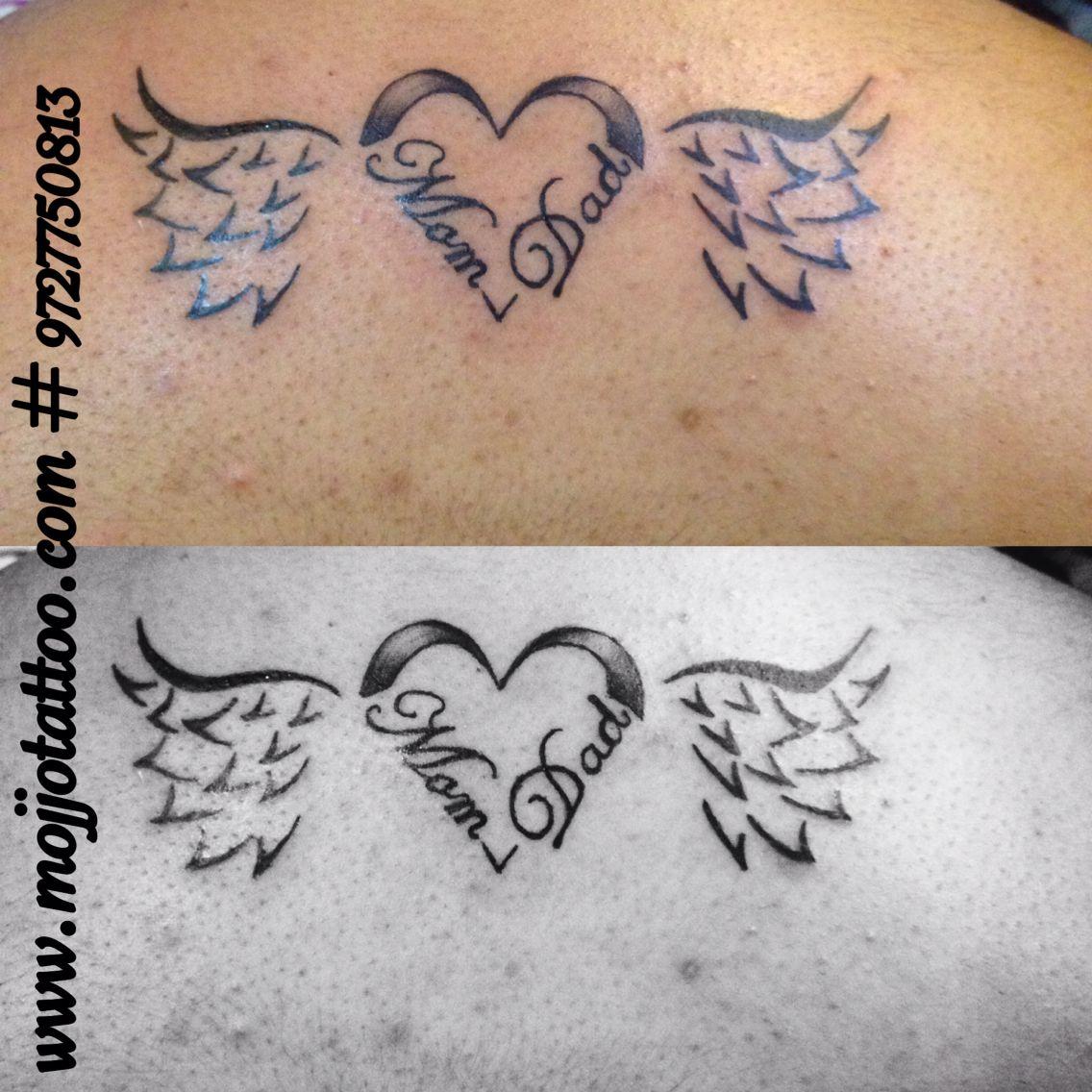 Tattoo Dedicated To Parents Made By Vaishali At Mojjo