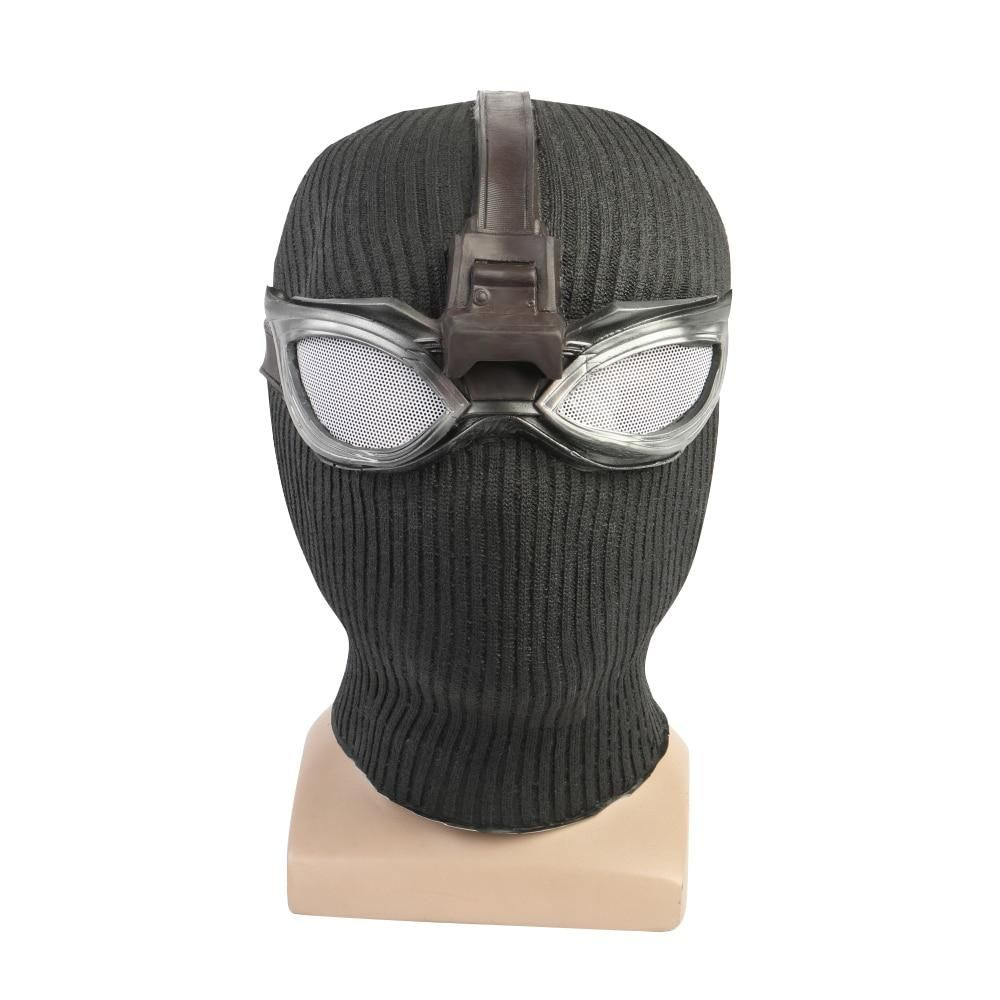Spider-Man Far From Home Stealth Suit Masks Glasses Cosplay Halloween Party