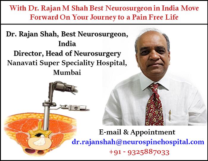 Dr  Rajan Shah Neurosurgeon, Dr  Rajan Shah Neurosurgeon at Nanavati