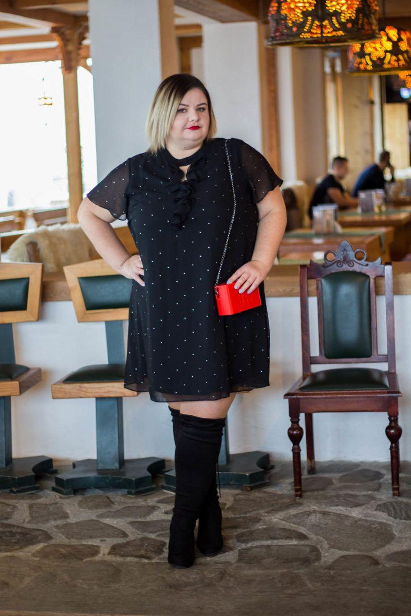 Co Ubrac Na Wigilie Stylizacja Plus Size Curvy Dress Plus Size Fashion Plus Size