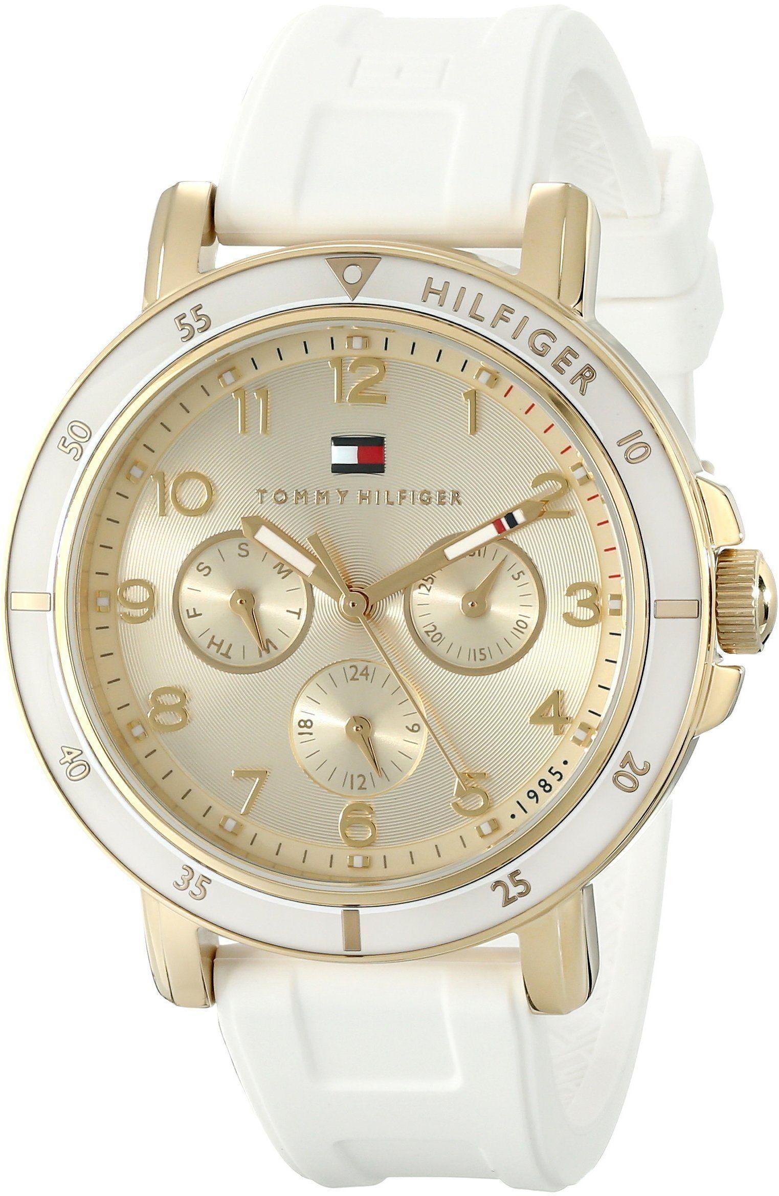 Tommy Hilfiger Women's 1781511 GoldTone Sport Watch with