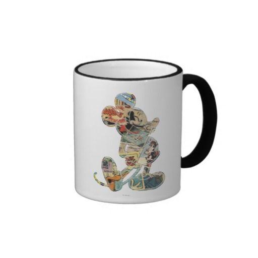 Comic Art Mickey Mouse Coffee Mug