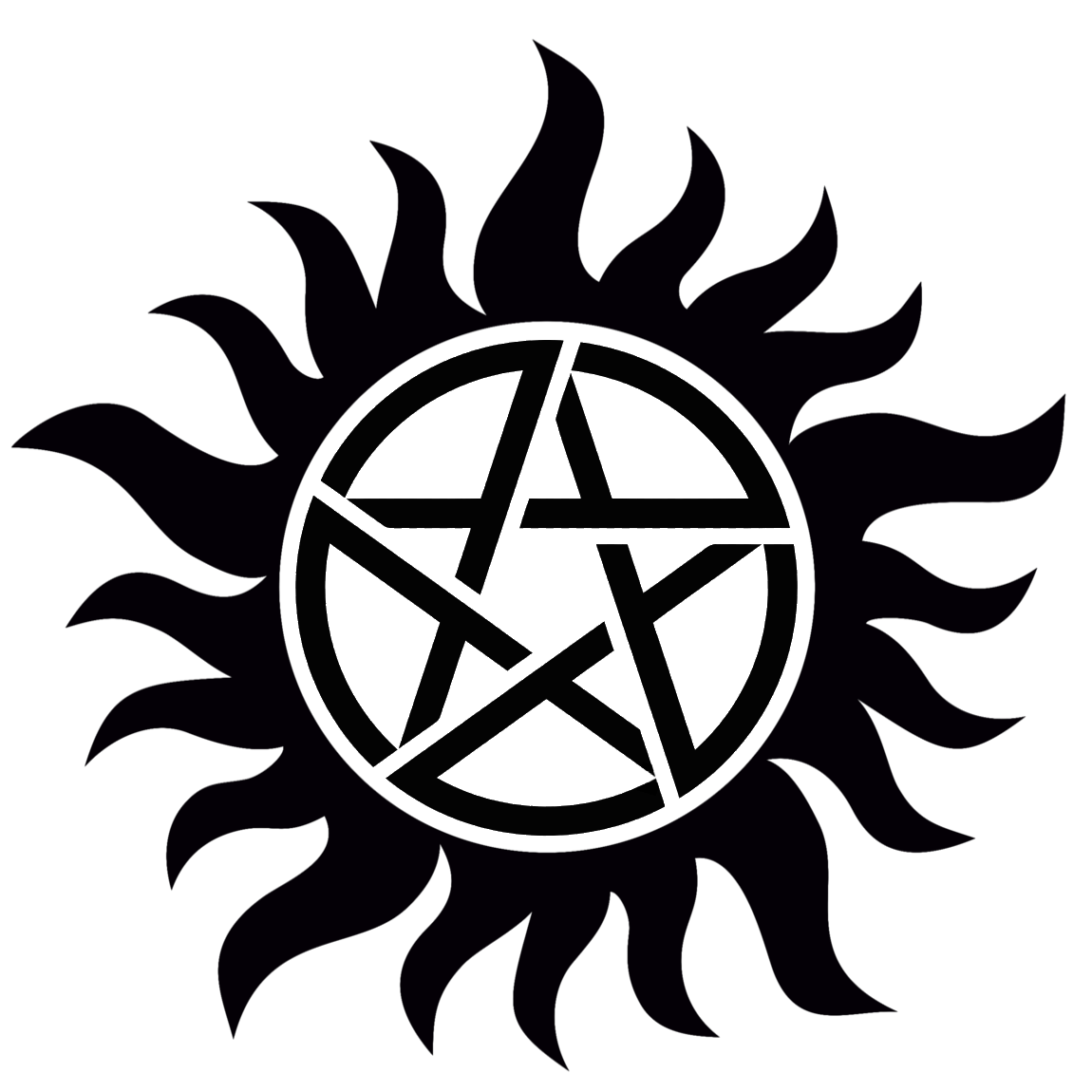 hight resolution of supernatural anti possession symbol