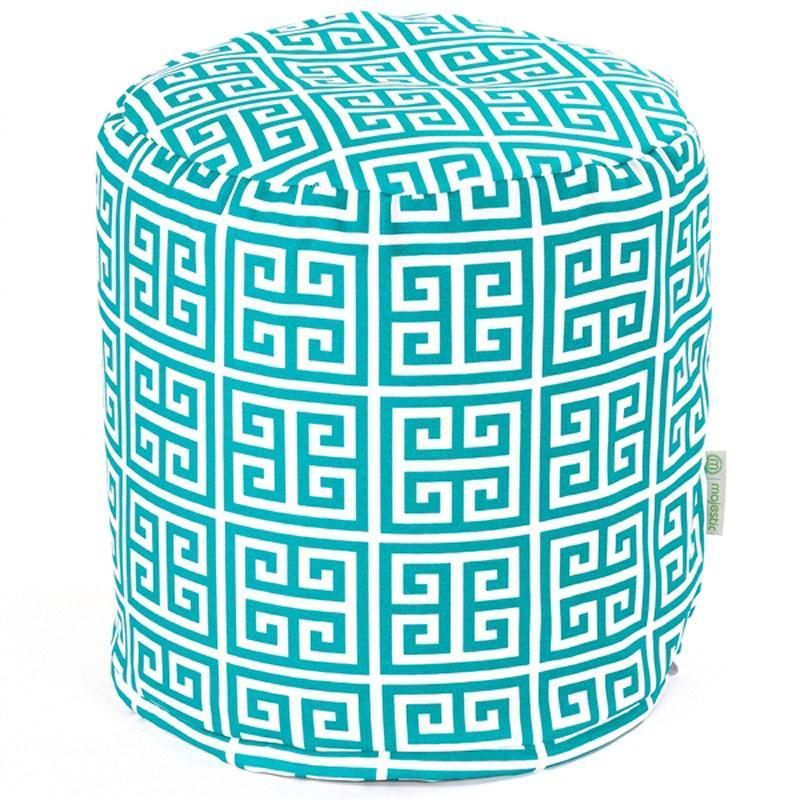Majestic Home Goods 85907220481 Pacific Towers Small Pouf