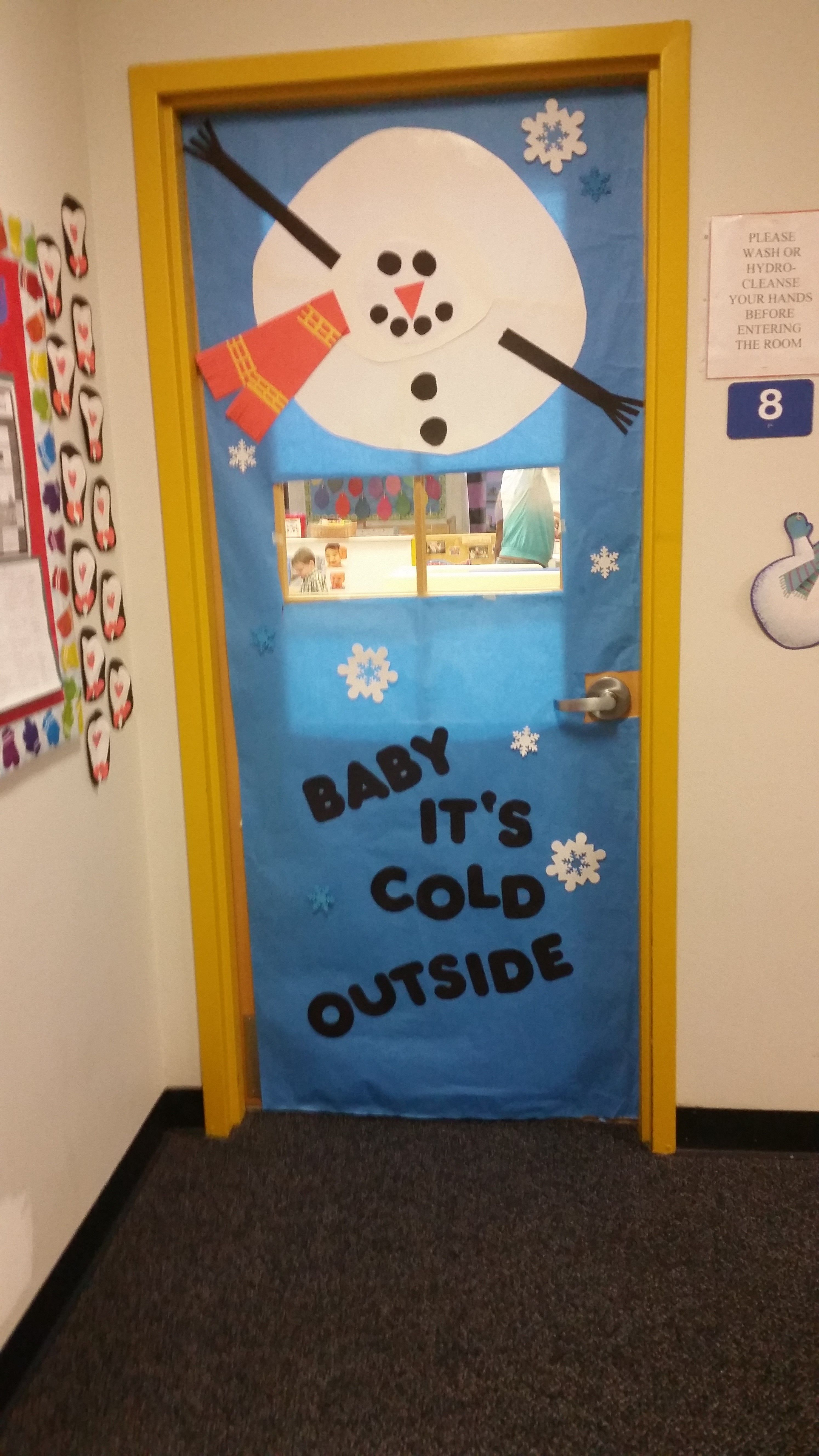 Winter Wonderland Classroom Door Decorations ~ Play learn abington pa quot baby it s cold outside