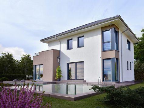 Architektenhaus mit Walmdach -Musterhaus CONCEPT-M 145 Zweibrücken ...