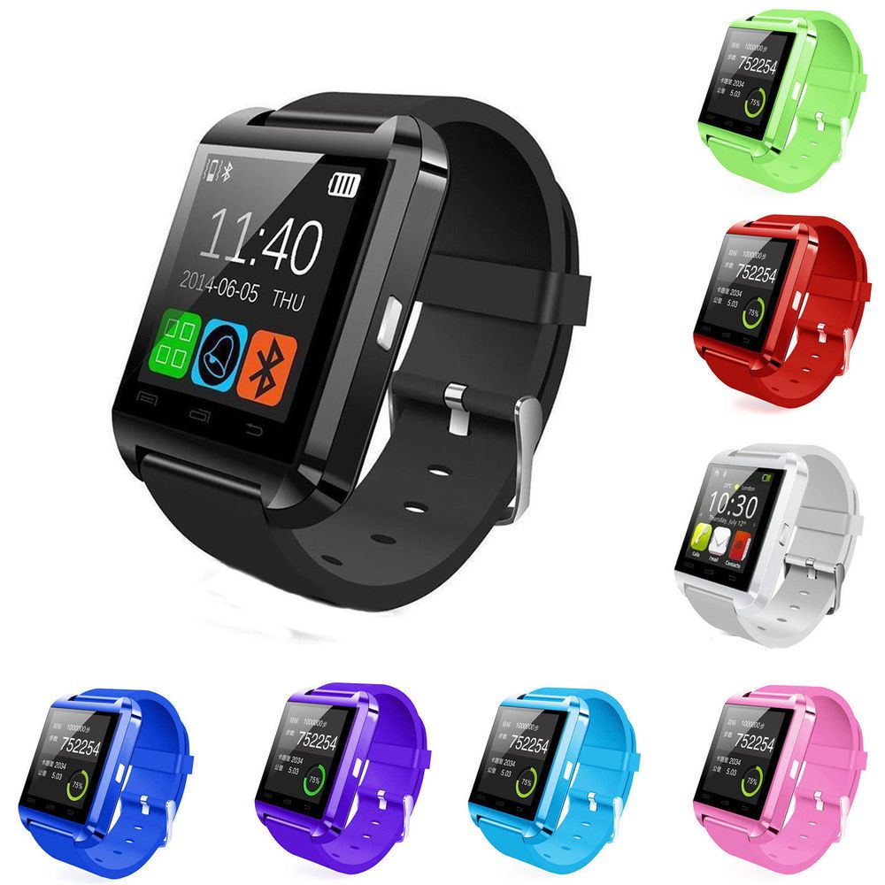 Bluetooth Smart Wrist Watch Phone Mate For IOS Android