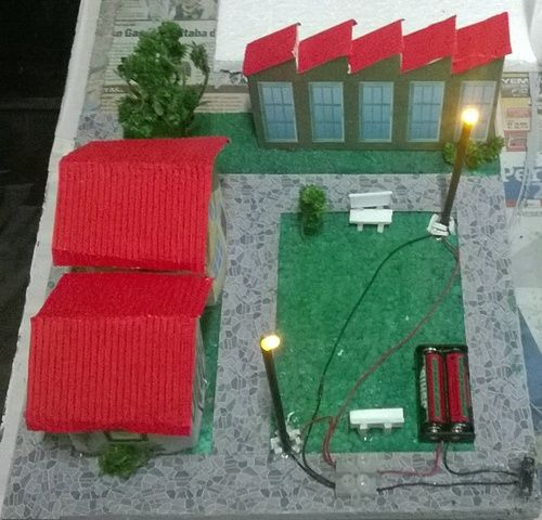 Circuito Electrico Simple De Una Casa : Maqueta de circuito electrico maquetas escolares circuito
