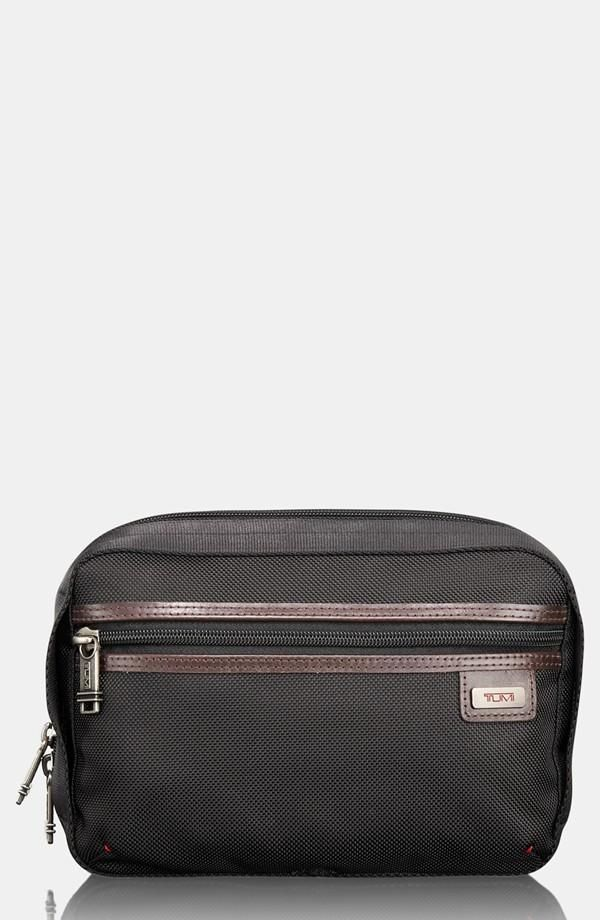 This dopp kit is practical and stylish.   Men s Clothing   Tumi, Kit ... a5cbf127b7