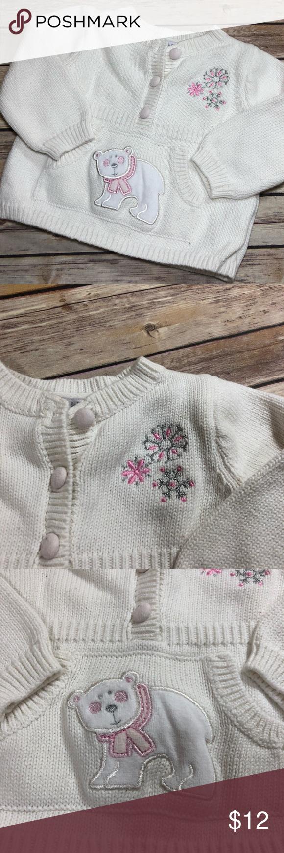 Baby Girls Piper Posie Sweater Babies