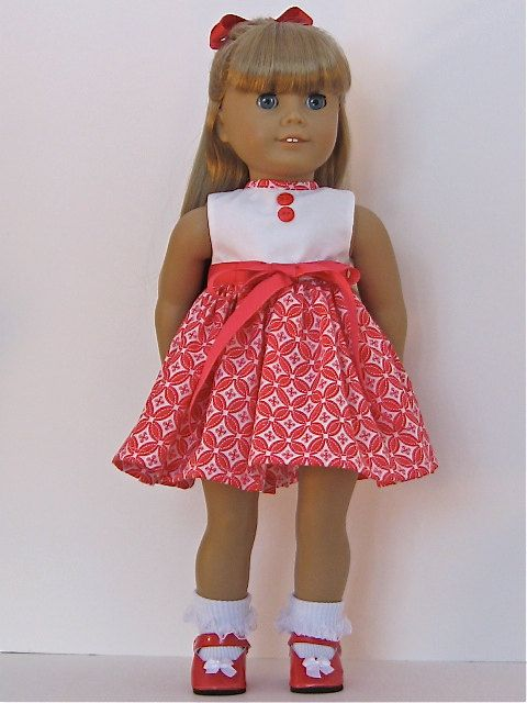 American Girl and 18 inch Doll Dress | Knitting - AG 2 | Pinterest
