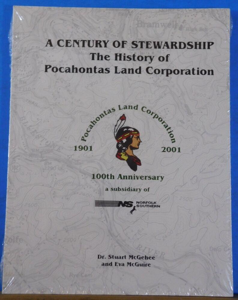 Details about pocahontas land corporation 100th