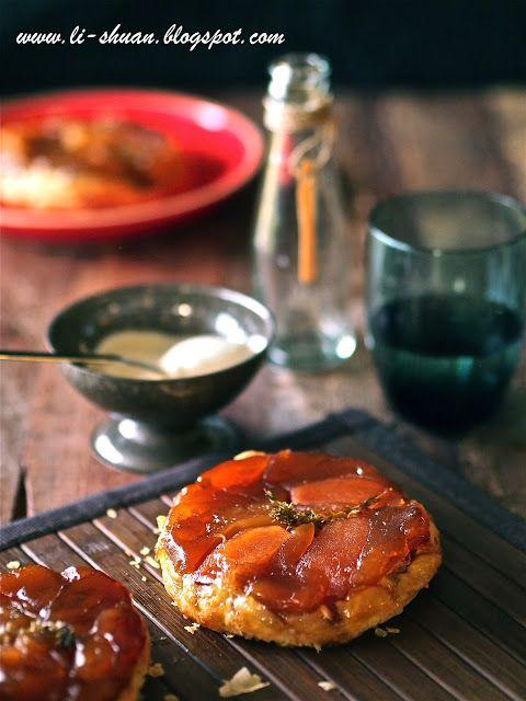 Helena S Kitchen Apple Tarte Tatin Upside Down Apple Tarts Apple Tarte Tatin Tarte Tatin Apple Tart