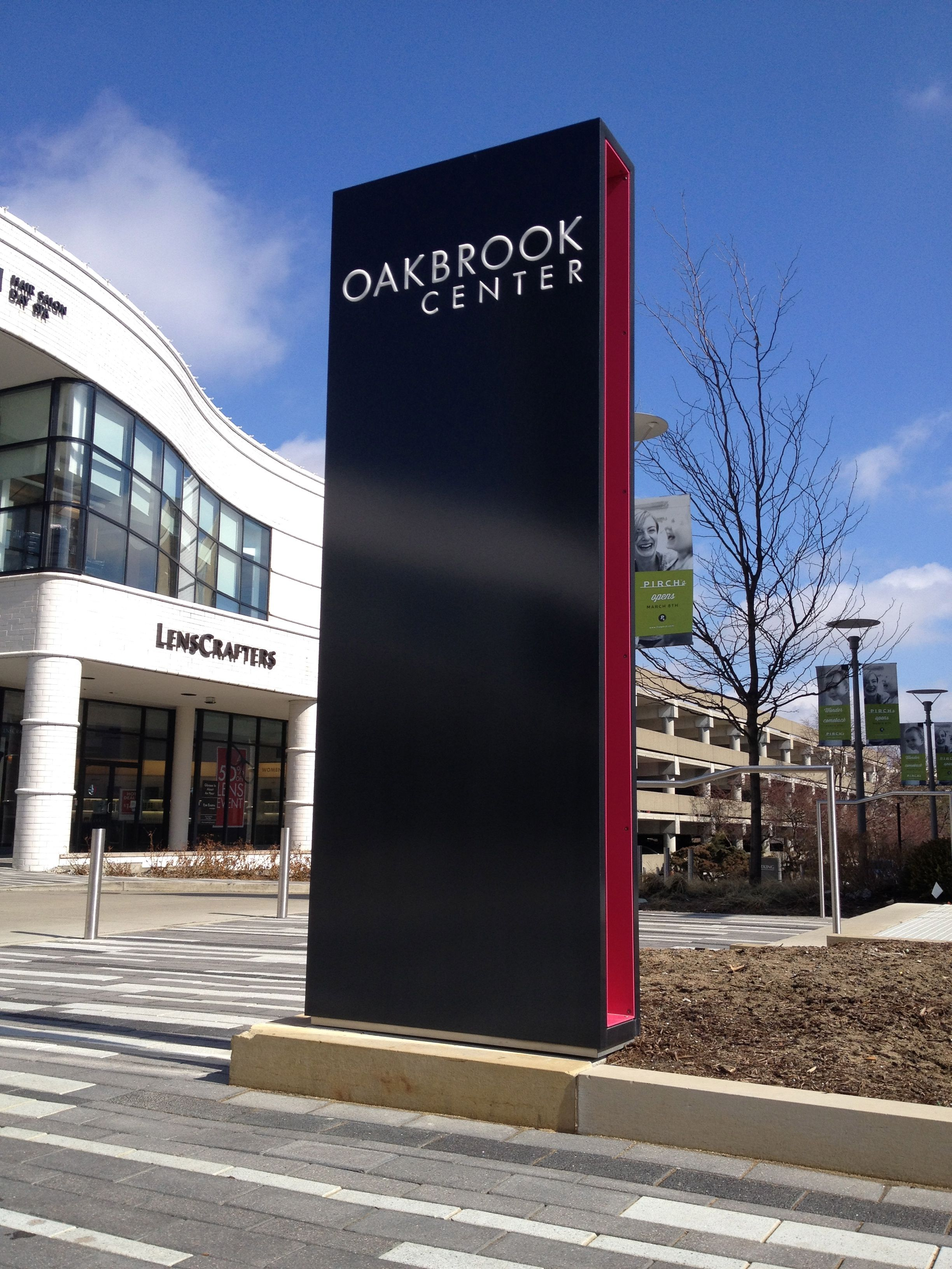 Oakbrook Center Simple Elegant Signage