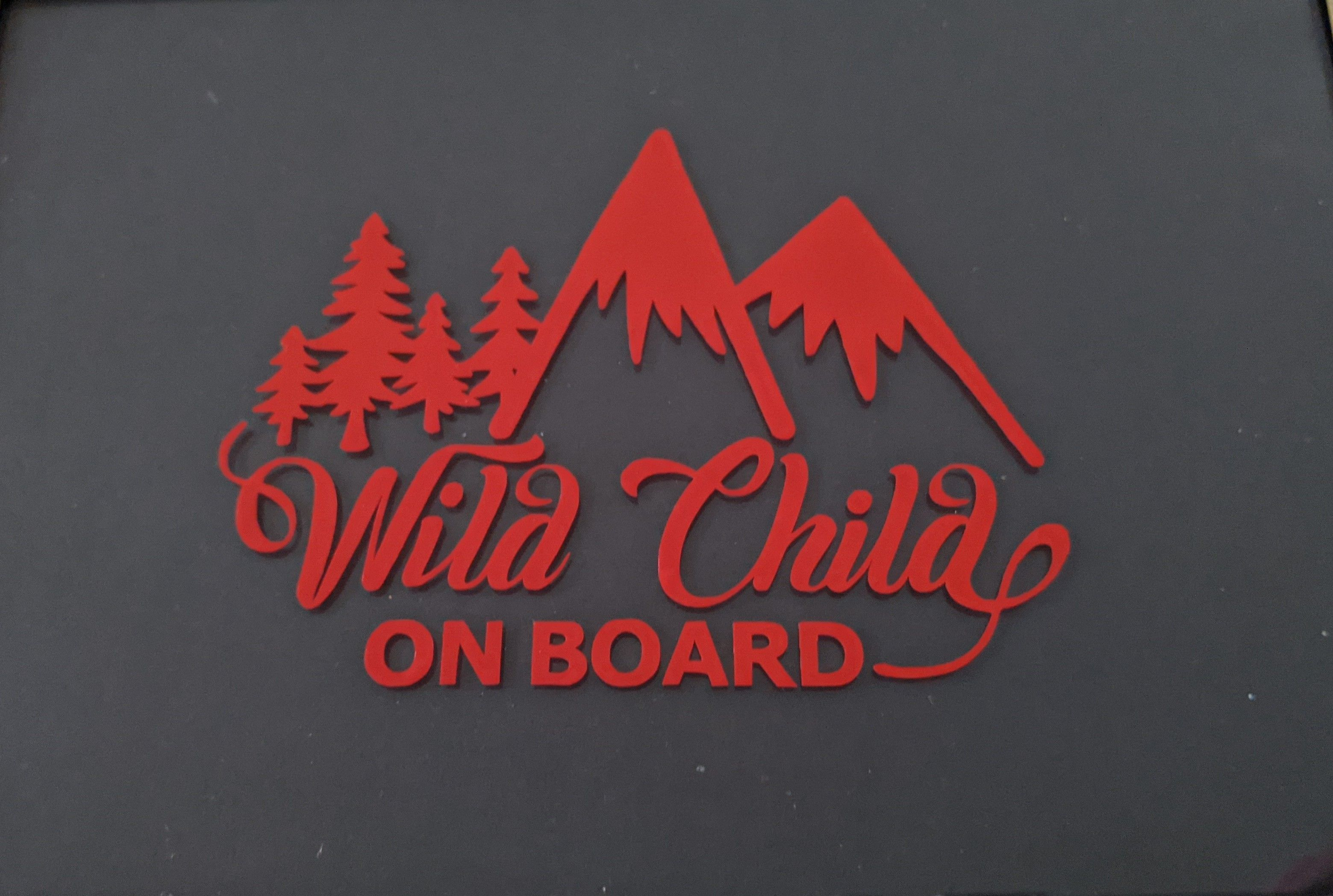 Baby On Board Wild Child On Board Car Truck Vinyl Decal Sticker Vinyl Decals Vinyl Decal Stickers Decals Stickers [ 2097 x 3119 Pixel ]