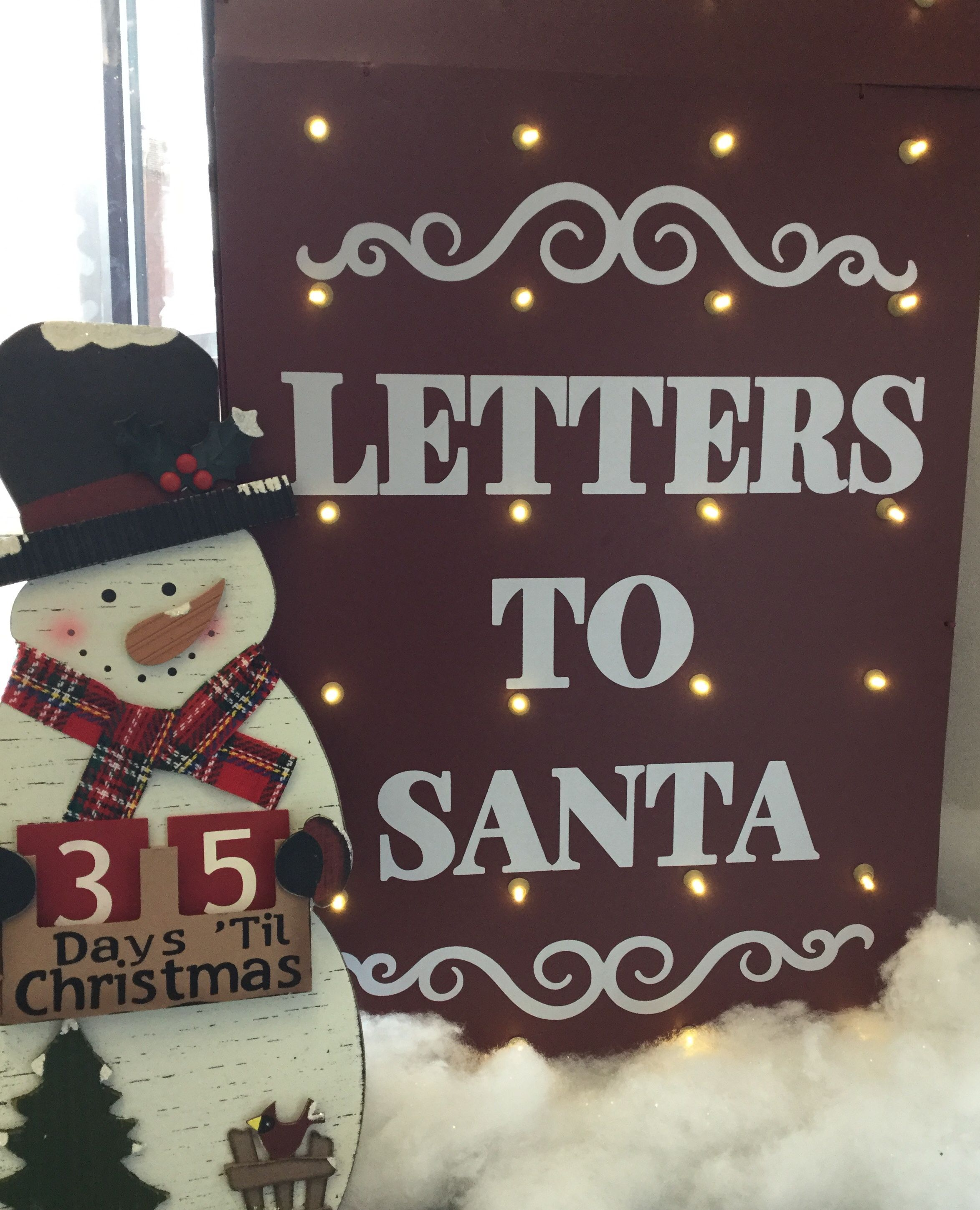 34d29f75f80 📣 Attention  kiddos ‼ Bring your 📮  LettersToSanta 🎅🏻 and drop ...