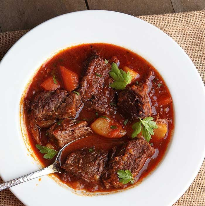 Photo of Beef goulash – Dish and Recipe – Weight Watchers