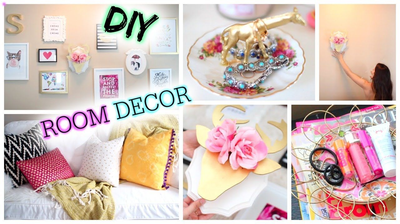 diy tumblr room decor cute affordable - Diy Bedroom Decorating