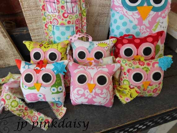 Owl Baby Shower Decoration /party Favor /ornament / Owl Pillow / Birthday  Party /