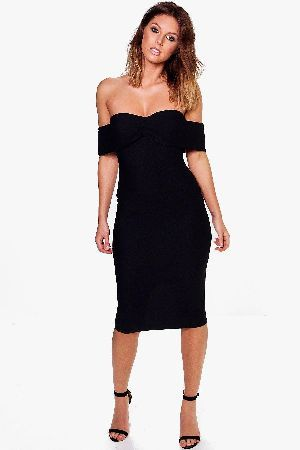 boohoo Off Shoulder Gathered Fine Rib Midi Dress - Sia Off Shoulder Gathered Fine Rib Midi Dress - black http://www.MightGet.com/january-2017-13/boohoo-off-shoulder-gathered-fine-rib-midi-dress-.asp