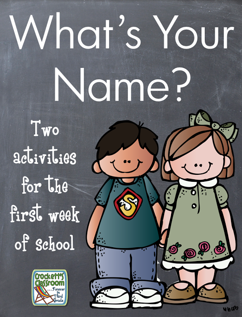 Name Activities For First Week Of School Printables