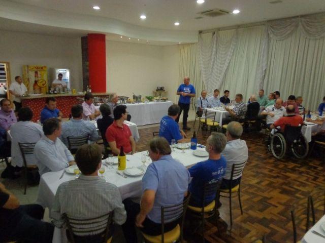 Na quarta-feira 12/11/2014, conforme cronograma do Plano de Ação, o Rotary Club de Timbó realizou a visita a empresa Hércules Motores Elétricos de Timbó.