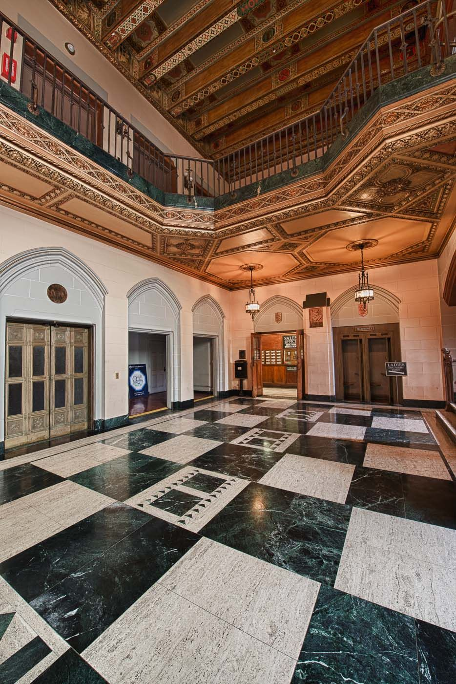 Entrance of the Detroit Masonic Temple | Visions of The