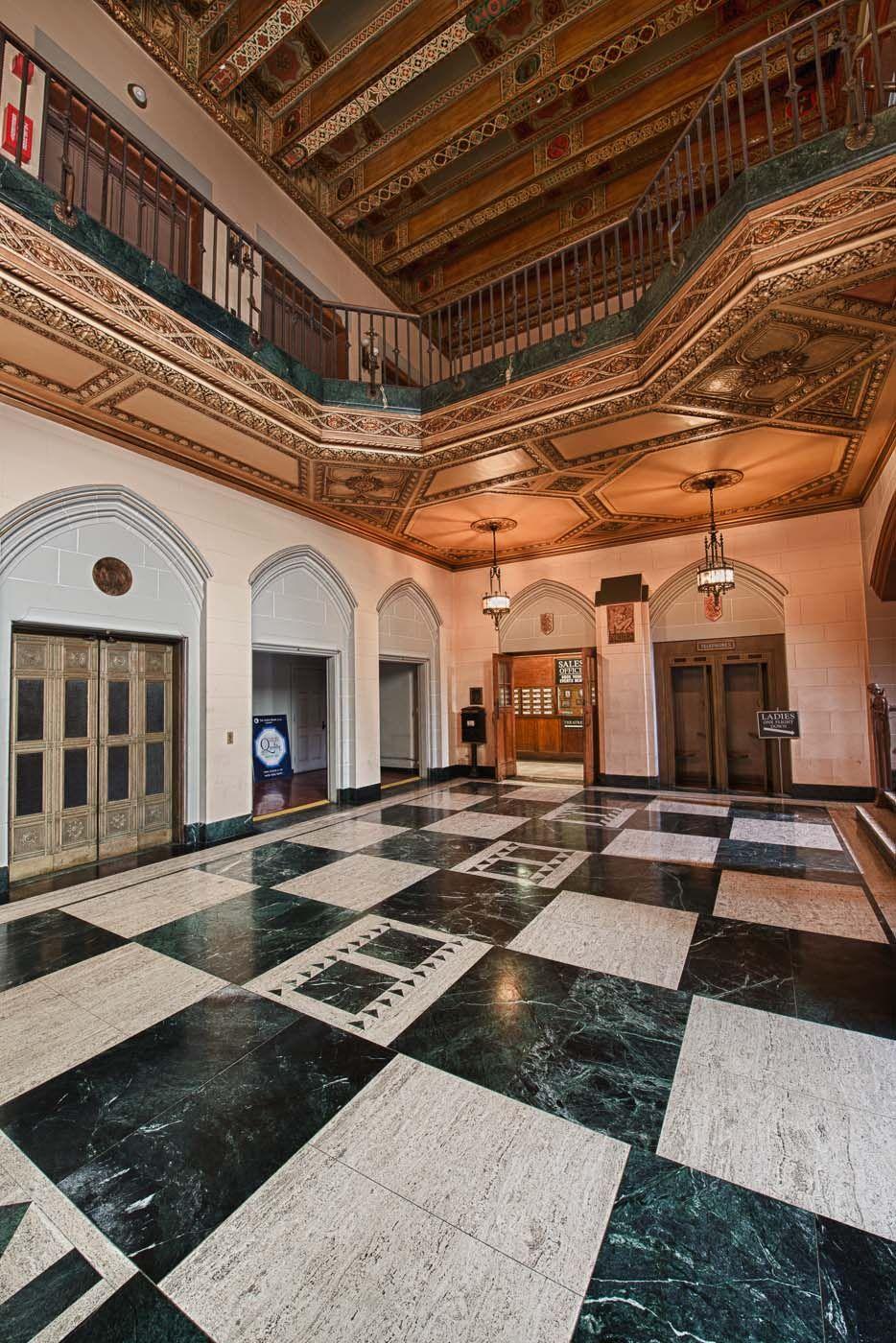 Entrance of the detroit masonic temple masonic lodge