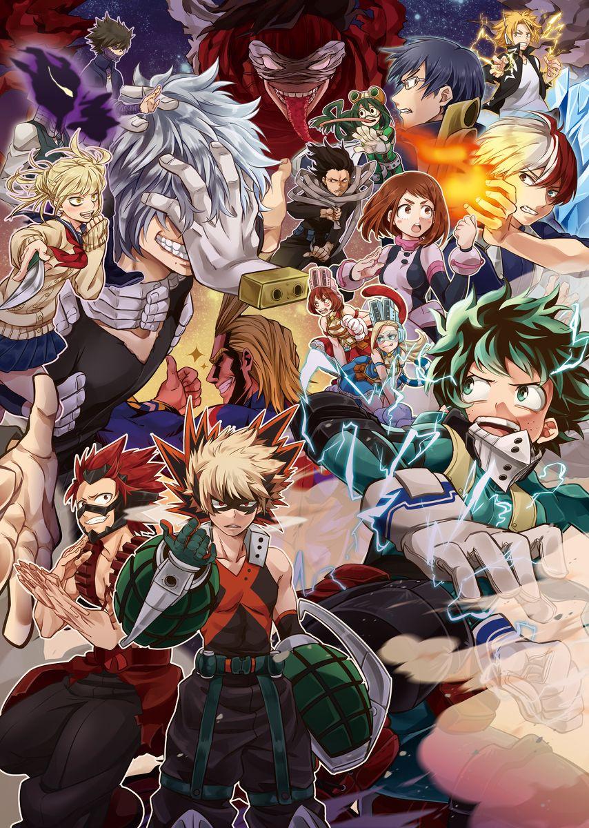 Anime Fans For Anime Fans My Hero Hero Wallpaper Anime