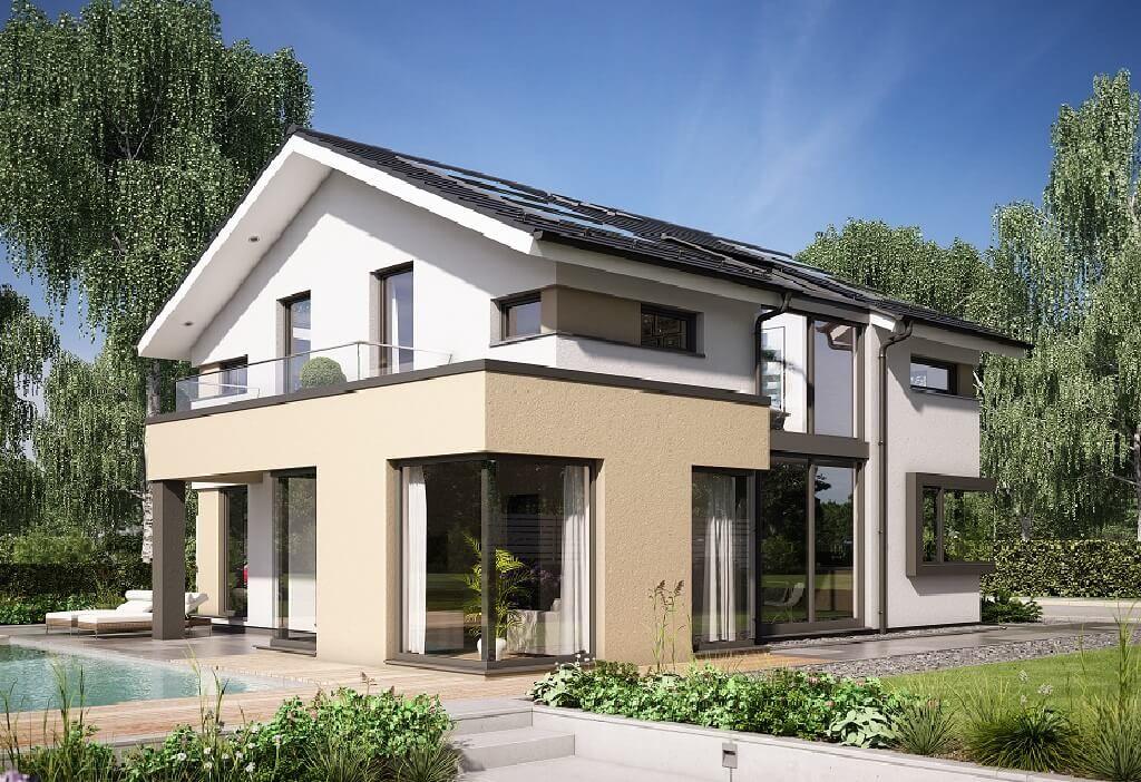 ConceptM 153 Bien Zenker Einfamilienhaus mit Satteldach