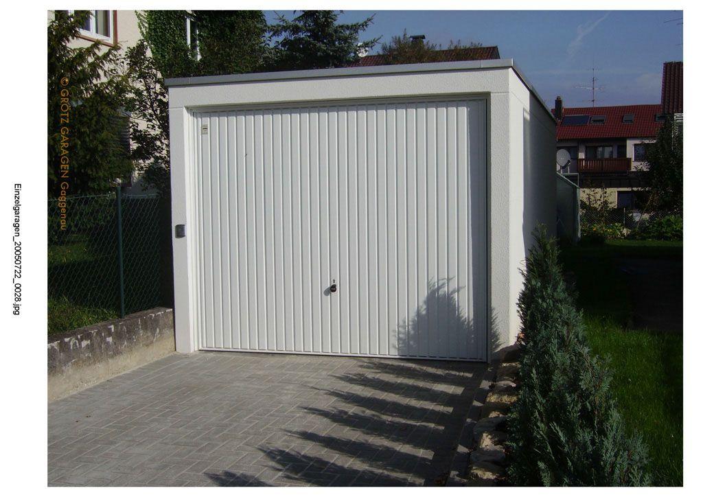 Einzelgarage Fertiggaragen Aus Beton Garage Und Fertiggaragen