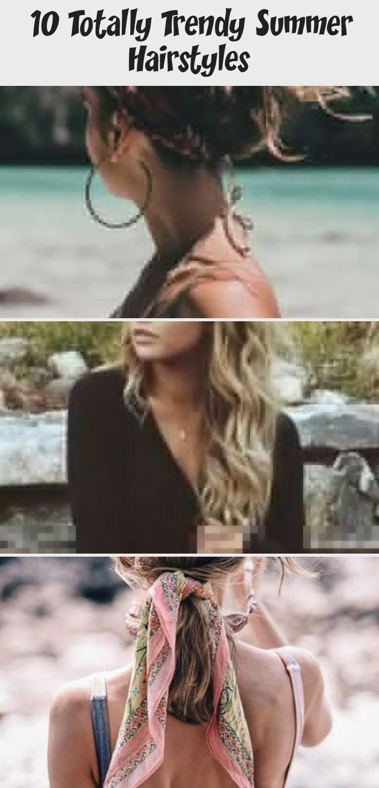 10 Totally Trendy Summer Hairstyles #summerhairstylesForBrunettes #summerhairstylesWithHeadbands #summerhairstylesBuns #summerhairstylesThin #ShoulderLengthsummerhairstyles #loose Braids on top of head 10 Totally Trendy Summer Hairstyles #loosebraids