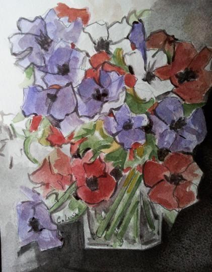 La vie en mauve - Claire Lewis   Au hasard de mes toiles - http/www ...