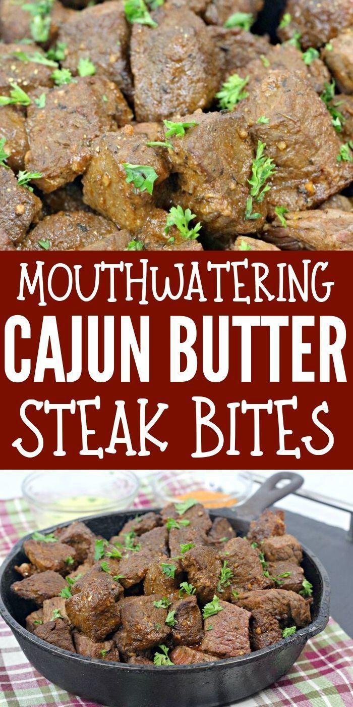 Mouthwatering Cajun Butter Steak Bites | Brea Getting Fit Mouthwatering Cajun Butter Steak Bites |