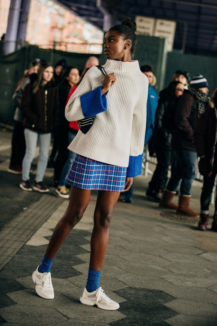 Die besten Street-Styles der New York Fashion Week #streetstyleclothing